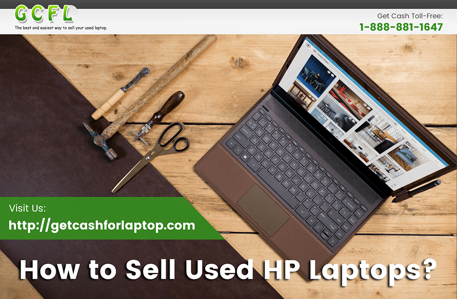 How to Sell Used HP Laptops?