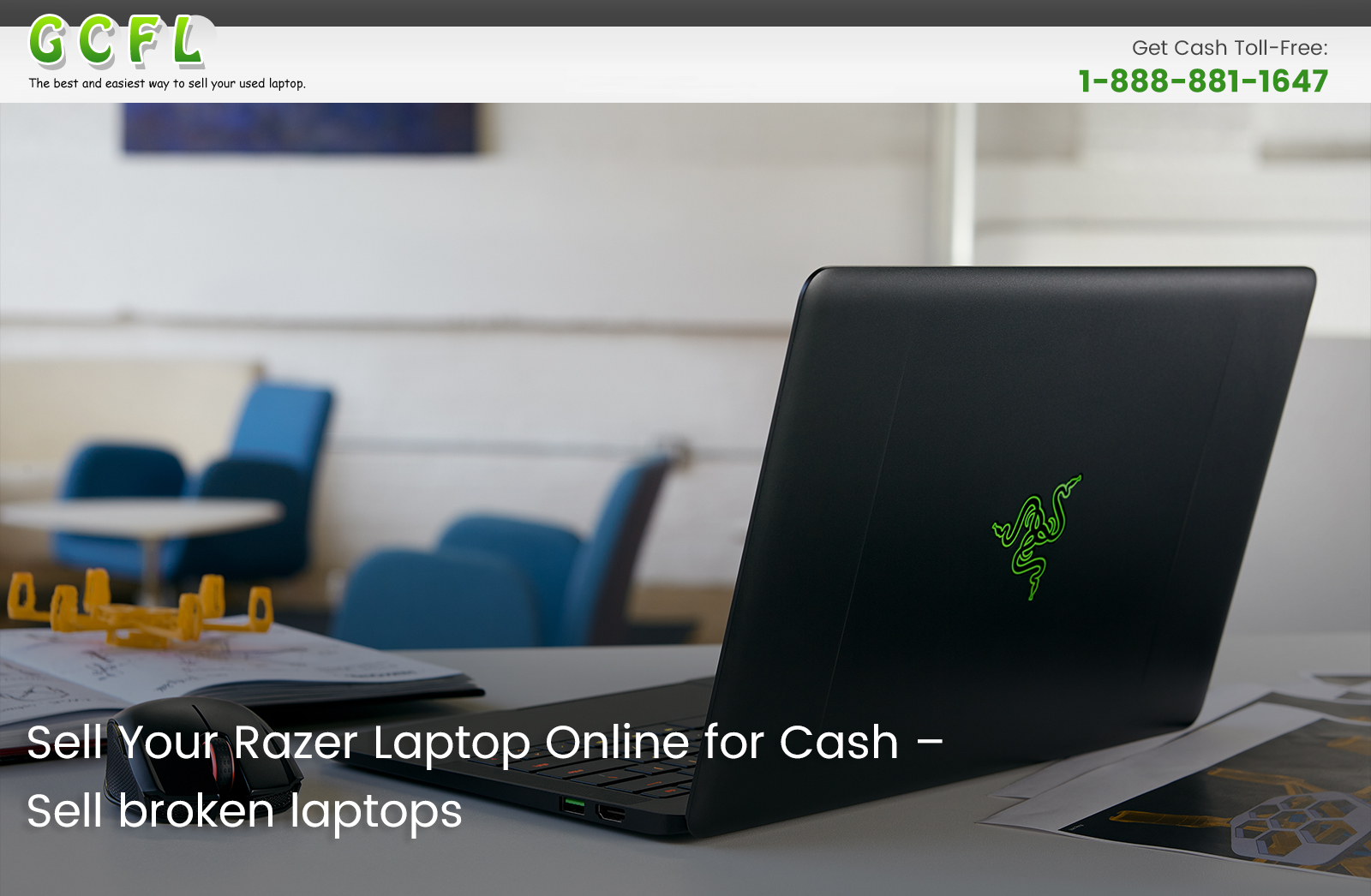 Sell Your Razer Laptop Online for Cash – Sell Broken Laptops